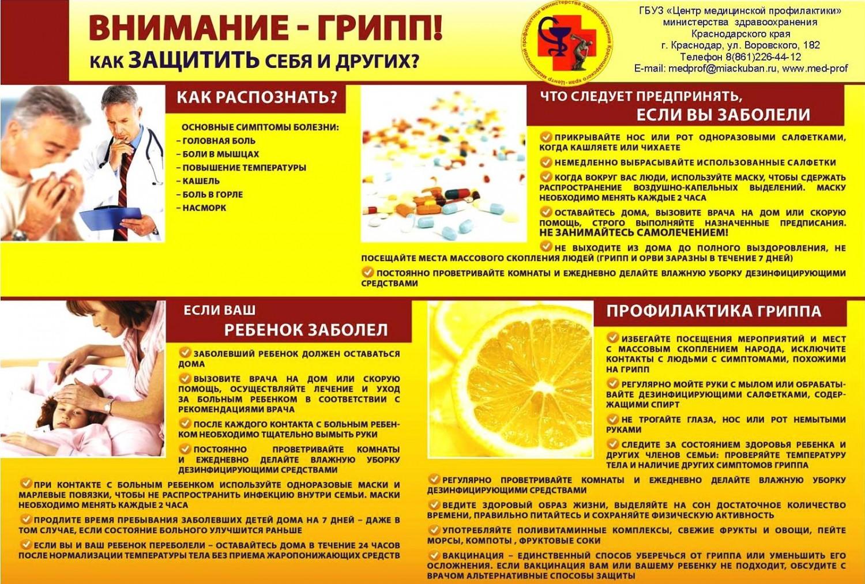 картинки по профилактике гриппа в